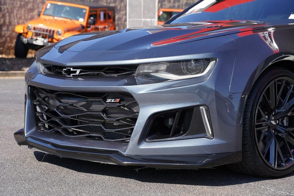 Used 2019 Chevrolet Camaro ZL1 for sale $62,992 at Gravity Autos Roswell in Roswell GA 30076 8