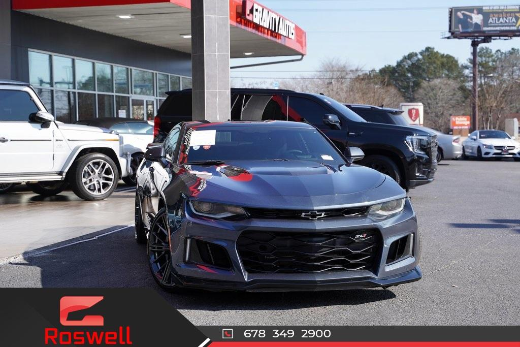 Used 2019 Chevrolet Camaro ZL1 for sale $62,992 at Gravity Autos Roswell in Roswell GA 30076 1