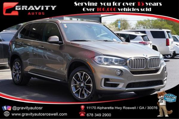 Used 2018 BMW X5 xDrive50i for sale $46,991 at Gravity Autos Roswell in Roswell GA