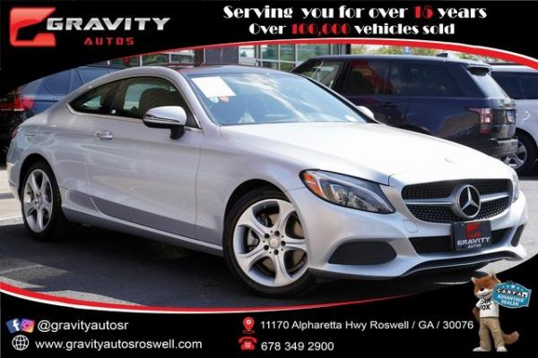 Used 2017 Mercedes-Benz C-Class C 300 for sale $31,996 at Gravity Autos Roswell in Roswell GA
