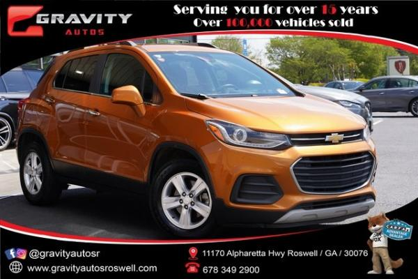 Used 2017 Chevrolet Trax LT for sale $15,992 at Gravity Autos Roswell in Roswell GA