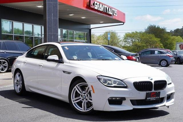 Used 2017 BMW 6 Series 650i xDrive Gran Coupe for sale $36,996 at Gravity Autos Roswell in Roswell GA 30076 2