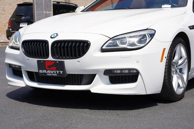 Used 2017 BMW 6 Series 650i xDrive Gran Coupe for sale $36,996 at Gravity Autos Roswell in Roswell GA 30076 9