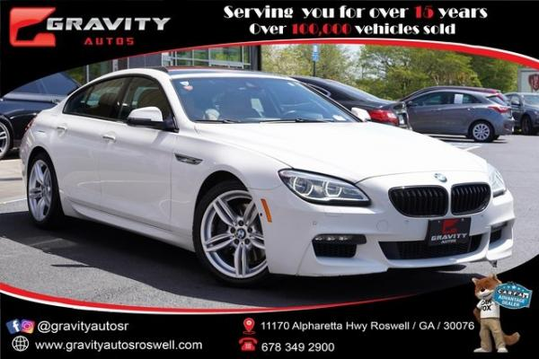 Used 2017 BMW 6 Series 650i xDrive Gran Coupe for sale $36,996 at Gravity Autos Roswell in Roswell GA