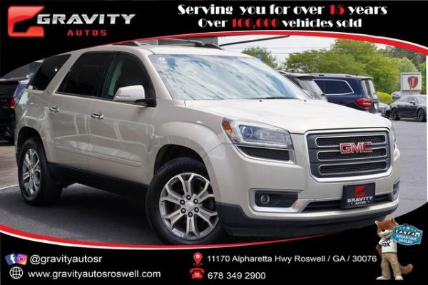 Used 2015 GMC Acadia SLT-1 for sale $19,491 at Gravity Autos Roswell in Roswell GA
