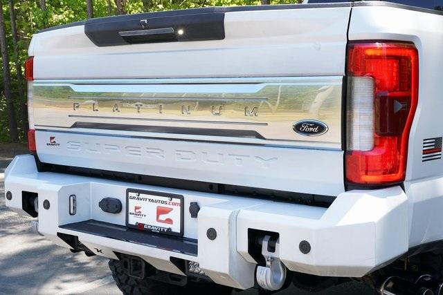 Used 2017 Ford F-350SD Platinum for sale $80,991 at Gravity Autos Roswell in Roswell GA 30076 21