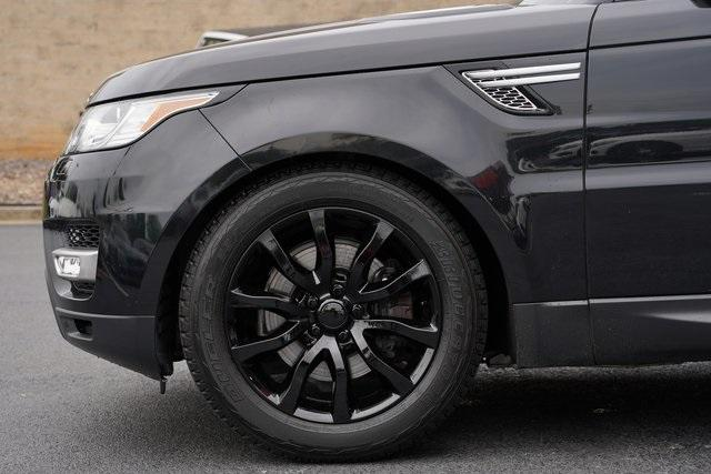 Used 2017 Land Rover Range Rover Sport 3.0L V6 Supercharged HSE for sale Sold at Gravity Autos Roswell in Roswell GA 30076 10