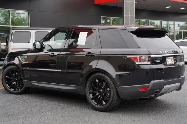 Used 2017 Land Rover Range Rover Sport 3.0L V6 Supercharged HSE for sale Sold at Gravity Autos Roswell in Roswell GA 30076 11