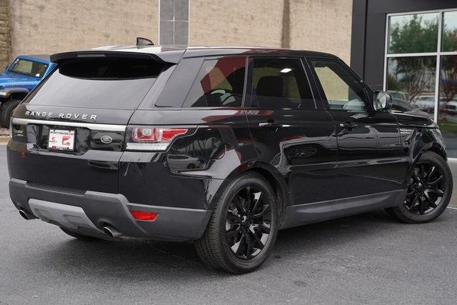 Used 2017 Land Rover Range Rover Sport 3.0L V6 Supercharged HSE for sale Sold at Gravity Autos Roswell in Roswell GA 30076 13