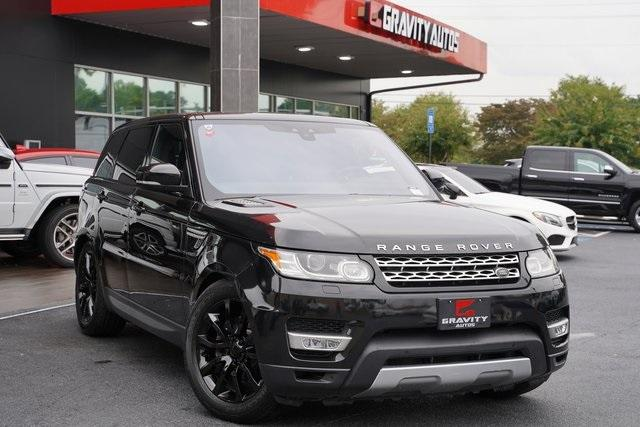 Used 2017 Land Rover Range Rover Sport 3.0L V6 Supercharged HSE for sale Sold at Gravity Autos Roswell in Roswell GA 30076 2