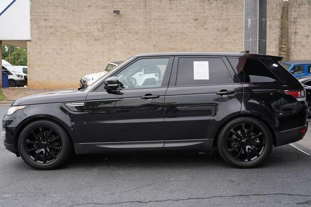Used 2017 Land Rover Range Rover Sport 3.0L V6 Supercharged HSE for sale Sold at Gravity Autos Roswell in Roswell GA 30076 4
