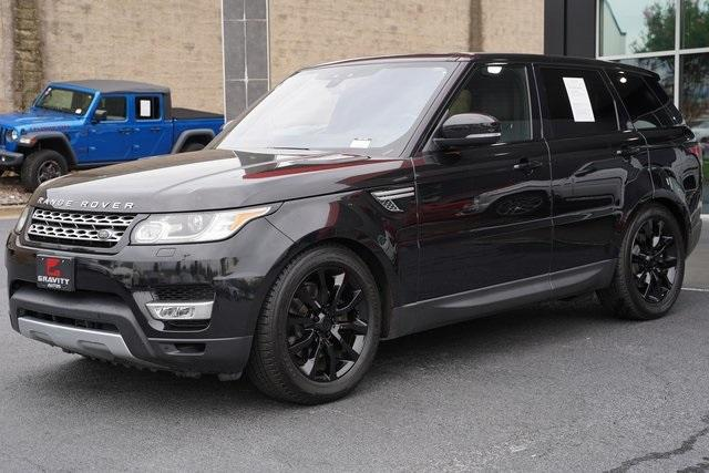 Used 2017 Land Rover Range Rover Sport 3.0L V6 Supercharged HSE for sale Sold at Gravity Autos Roswell in Roswell GA 30076 5
