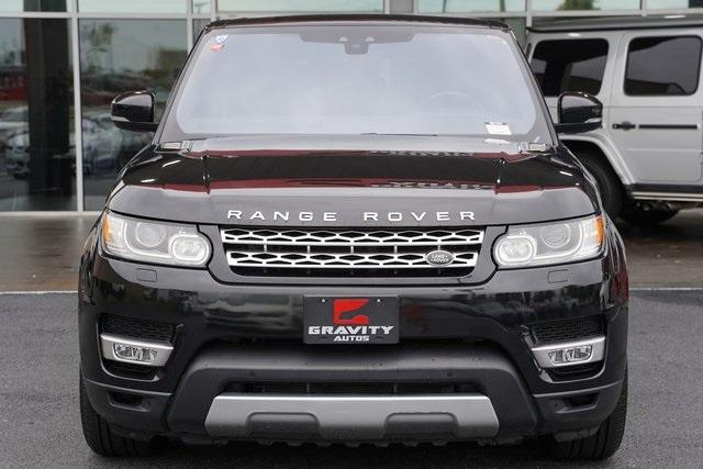 Used 2017 Land Rover Range Rover Sport 3.0L V6 Supercharged HSE for sale Sold at Gravity Autos Roswell in Roswell GA 30076 6