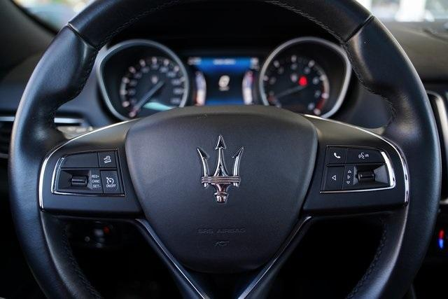 Used 2017 Maserati Levante Base for sale $48,491 at Gravity Autos Roswell in Roswell GA 30076 18