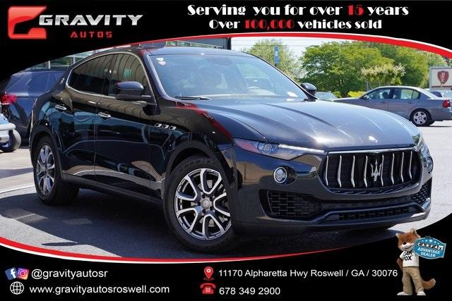 Used 2017 Maserati Levante Base for sale $48,491 at Gravity Autos Roswell in Roswell GA 30076 1