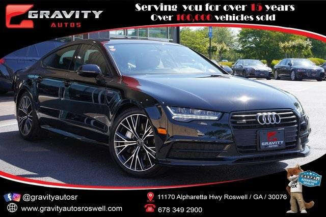 Used 2017 Audi A7 3.0T Premium Plus for sale $46,991 at Gravity Autos Roswell in Roswell GA 30076 1
