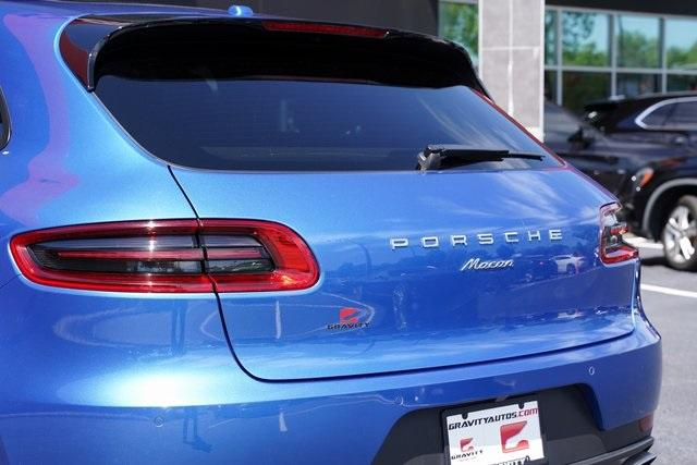 Used 2017 Porsche Macan Base for sale $34,991 at Gravity Autos Roswell in Roswell GA 30076 13