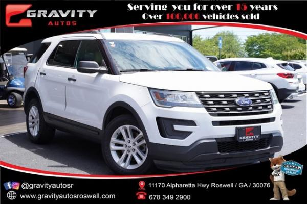 Used 2017 Ford Explorer Base for sale $22,991 at Gravity Autos Roswell in Roswell GA