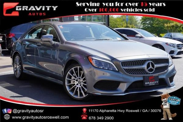 Used 2017 Mercedes-Benz CLS CLS 550 for sale $49,991 at Gravity Autos Roswell in Roswell GA
