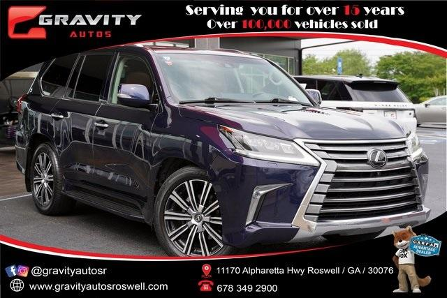 Used 2018 Lexus LX 570 for sale $74,995 at Gravity Autos Roswell in Roswell GA 30076 1