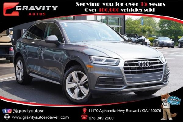 Used 2019 Audi Q5 2.0T Premium Plus for sale $40,991 at Gravity Autos Roswell in Roswell GA