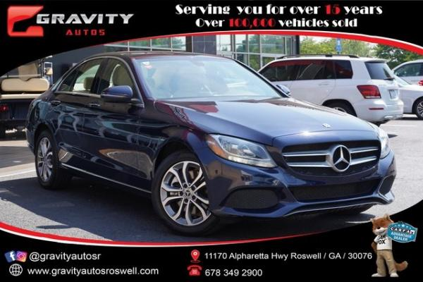 Used 2018 Mercedes-Benz C-Class C 300 for sale $30,491 at Gravity Autos Roswell in Roswell GA