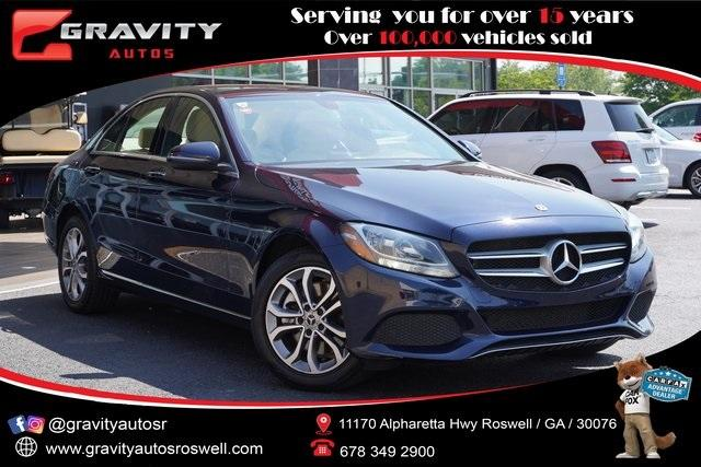 Used 2018 Mercedes-Benz C-Class C 300 for sale $30,491 at Gravity Autos Roswell in Roswell GA 30076 1
