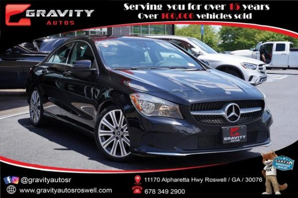 Used 2018 Mercedes-Benz CLA CLA 250 for sale $27,991 at Gravity Autos Roswell in Roswell GA