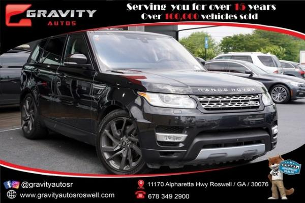 Used 2017 Land Rover Range Rover Sport HSE Td6 for sale $49,491 at Gravity Autos Roswell in Roswell GA