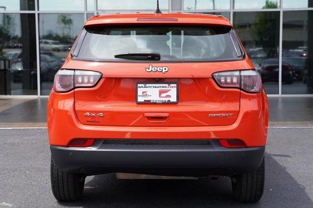 Used 2018 Jeep Compass Sport for sale Sold at Gravity Autos Roswell in Roswell GA 30076 11