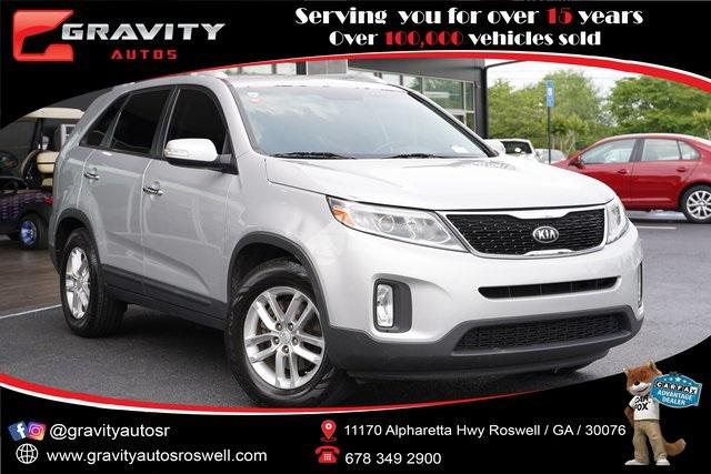 Used 2014 Kia Sorento LX for sale $14,491 at Gravity Autos Roswell in Roswell GA 30076 1