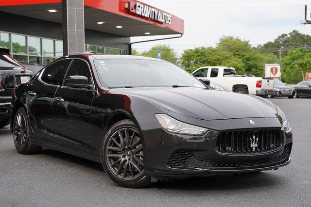 Used 2015 Maserati Ghibli Base for sale Sold at Gravity Autos Roswell in Roswell GA 30076 2