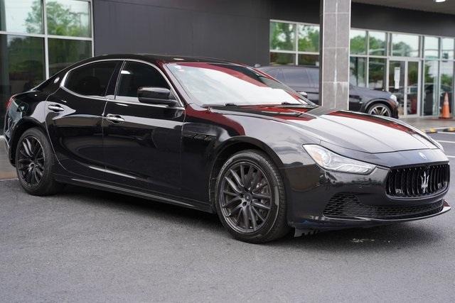 Used 2015 Maserati Ghibli Base for sale Sold at Gravity Autos Roswell in Roswell GA 30076 7