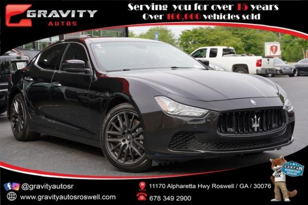 Used 2015 Maserati Ghibli Base for sale $29,992 at Gravity Autos Roswell in Roswell GA