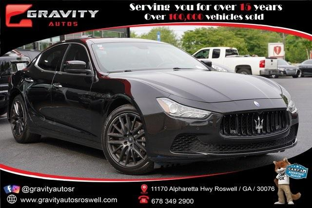 Used 2015 Maserati Ghibli Base for sale Sold at Gravity Autos Roswell in Roswell GA 30076 1