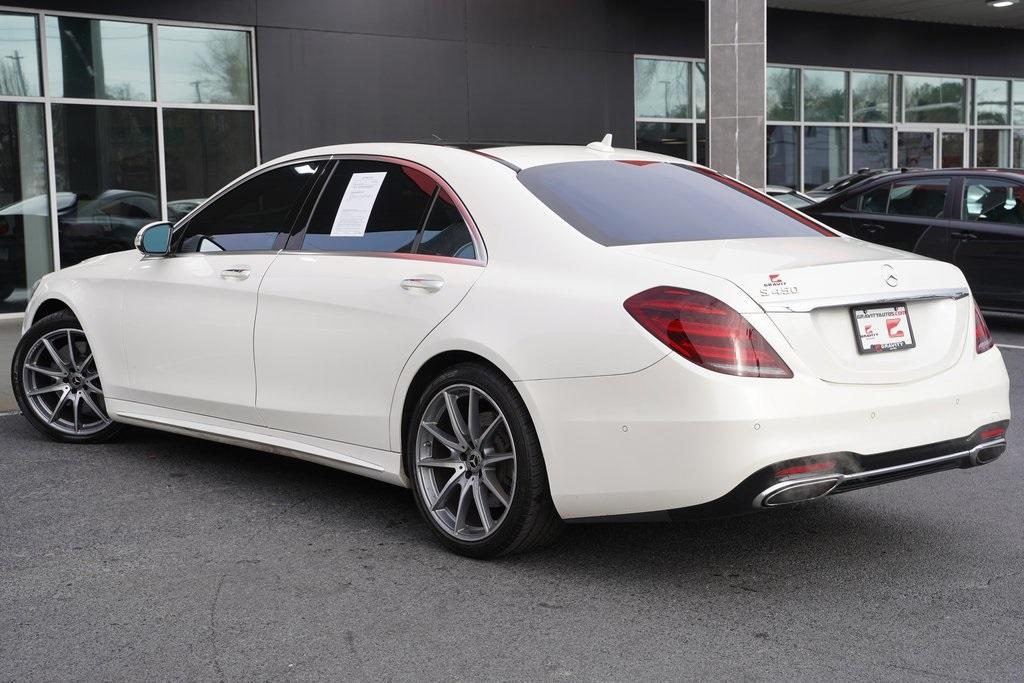 Used 2018 Mercedes-Benz S-Class S 450 for sale $61,991 at Gravity Autos Roswell in Roswell GA 30076 10