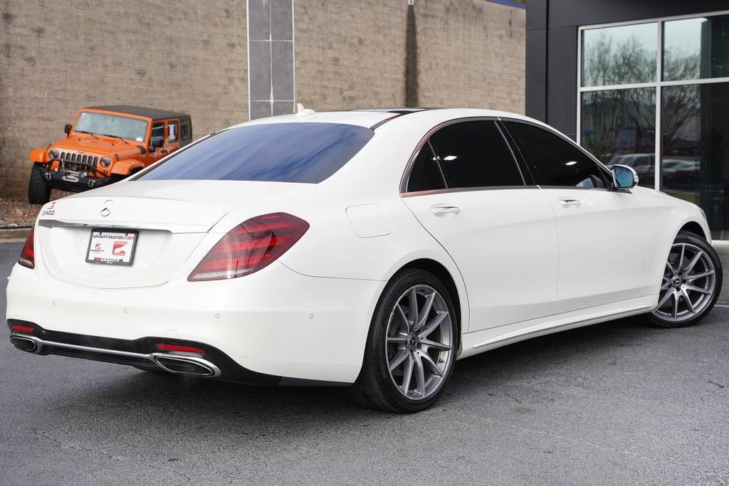 Used 2018 Mercedes-Benz S-Class S 450 for sale $61,991 at Gravity Autos Roswell in Roswell GA 30076 12