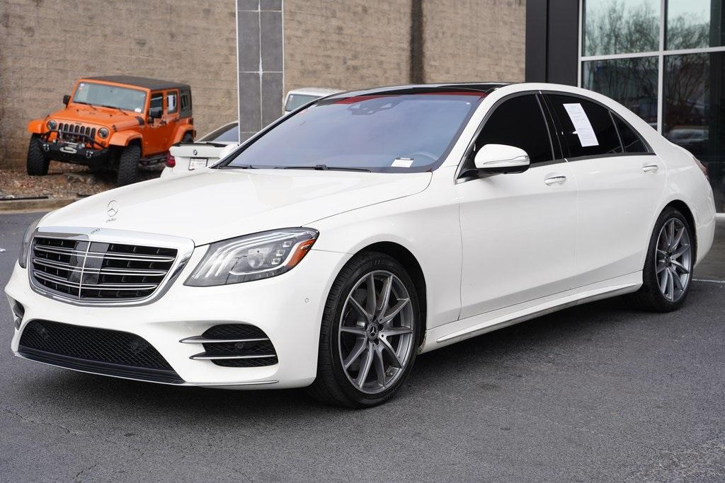 Used 2018 Mercedes-Benz S-Class S 450 for sale $61,991 at Gravity Autos Roswell in Roswell GA 30076 4