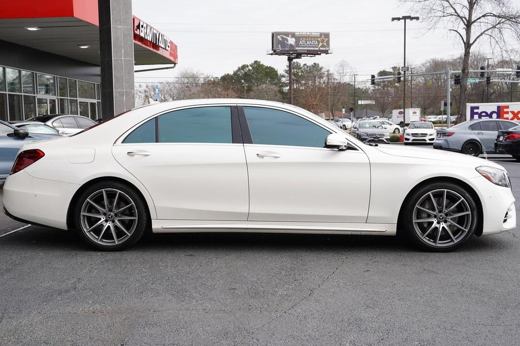 Used 2018 Mercedes-Benz S-Class S 450 for sale $61,991 at Gravity Autos Roswell in Roswell GA 30076 7