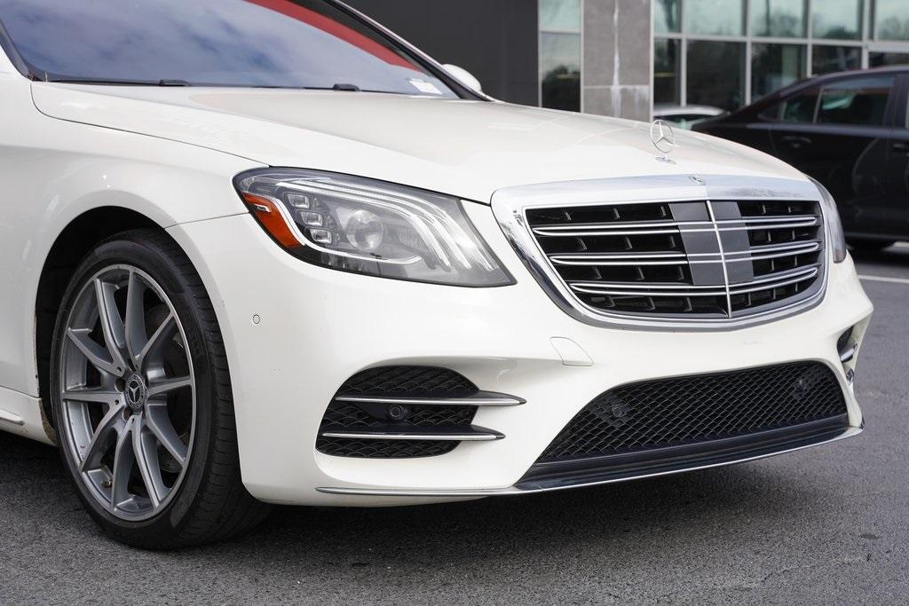 Used 2018 Mercedes-Benz S-Class S 450 for sale $61,991 at Gravity Autos Roswell in Roswell GA 30076 8