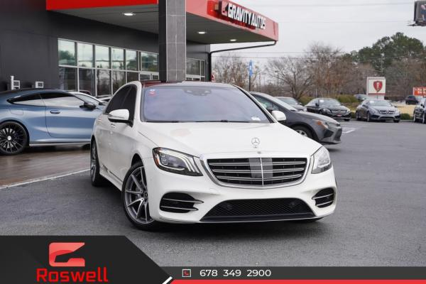 Used 2018 Mercedes-Benz S-Class S 450 for sale $61,991 at Gravity Autos Roswell in Roswell GA