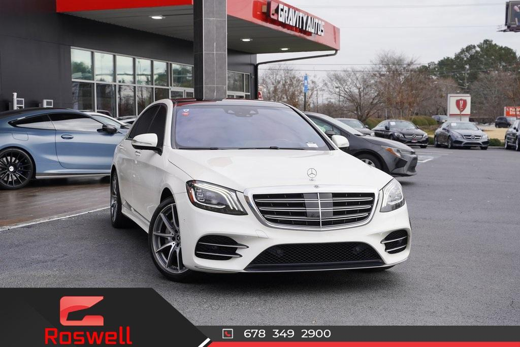 Used 2018 Mercedes-Benz S-Class S 450 for sale $61,991 at Gravity Autos Roswell in Roswell GA 30076 1