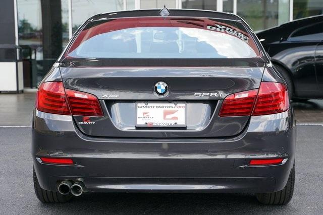 Used 2016 BMW 5 Series 528i xDrive for sale $22,991 at Gravity Autos Roswell in Roswell GA 30076 12