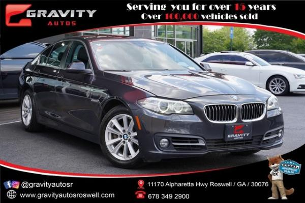 Used 2016 BMW 5 Series 528i xDrive for sale $22,991 at Gravity Autos Roswell in Roswell GA
