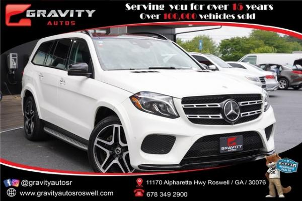 Used 2018 Mercedes-Benz GLS GLS 550 for sale $64,991 at Gravity Autos Roswell in Roswell GA
