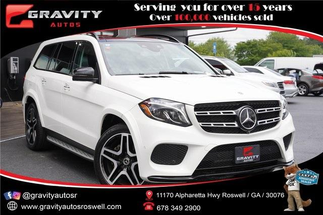 Used 2018 Mercedes-Benz GLS GLS 550 for sale $64,991 at Gravity Autos Roswell in Roswell GA 30076 1