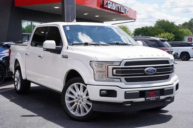 Used 2018 Ford F-150 Limited for sale $47,496 at Gravity Autos Roswell in Roswell GA 30076 2