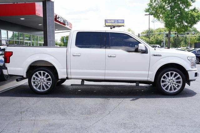 Used 2018 Ford F-150 Limited for sale $47,496 at Gravity Autos Roswell in Roswell GA 30076 8