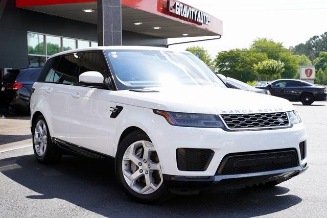 Used 2018 Land Rover Range Rover Sport HSE for sale $61,991 at Gravity Autos Roswell in Roswell GA 30076 2