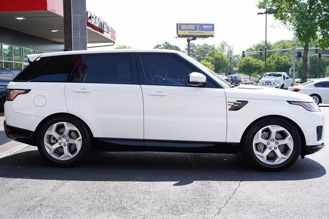 Used 2018 Land Rover Range Rover Sport HSE for sale $61,991 at Gravity Autos Roswell in Roswell GA 30076 8